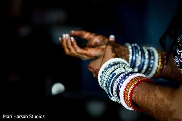 Getting Ready in Arlington, VA Indian Wedding by Mari Harsan Studios