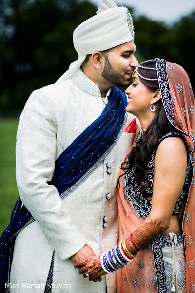 Portraits in Arlington, VA Indian Wedding by Mari Harsan Studios