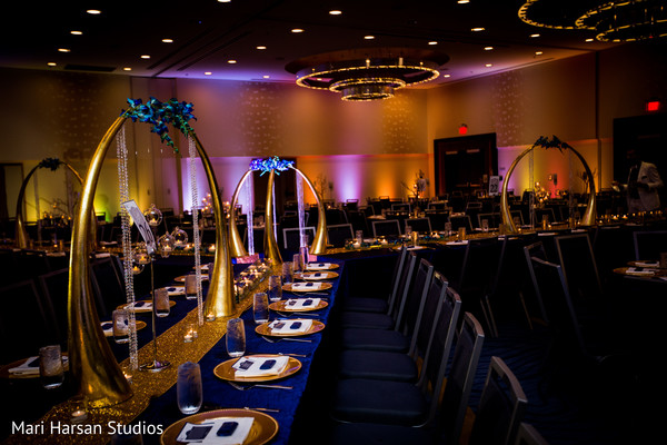 Reception in Arlington, VA Indian Wedding by Mari Harsan Studios