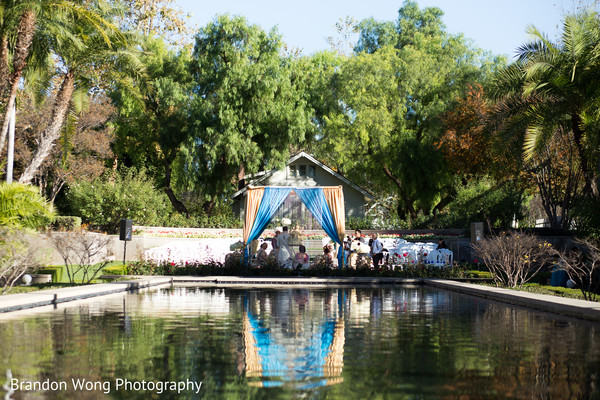 Ceremony in Yorba Linda, CA Indian Wedding by Brandon Wong Photography