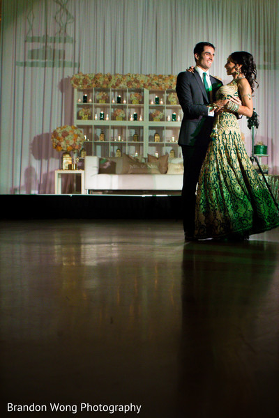 Reception in Yorba Linda, CA Indian Wedding by Brandon Wong Photography
