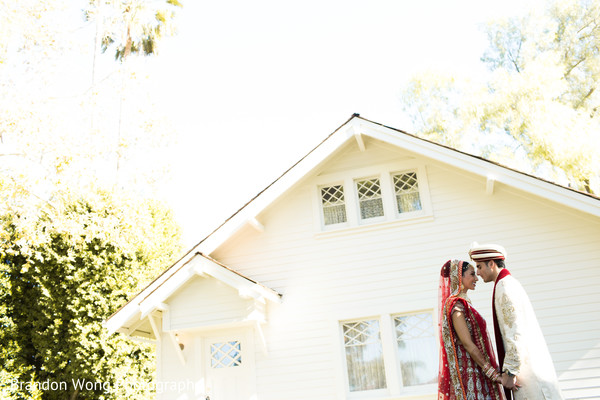 Portraits in Yorba Linda, CA Indian Wedding by Brandon Wong Photography