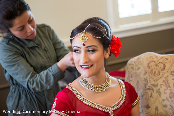Getting Ready in Livermore, CA Indian Fusion Wedding by Wedding Documentary Photo + Cinema