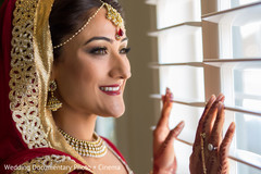 indian bride getting ready,indian bridal hair and makeup,indian wedding makeup,indian weddings,indian wedding necklace