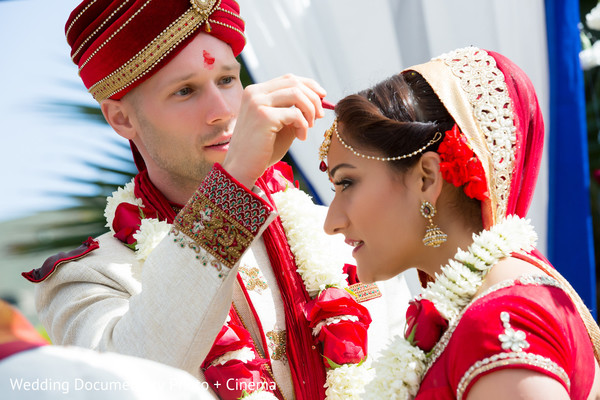 Ceremony in Livermore, CA Indian Fusion Wedding by Wedding Documentary Photo + Cinema