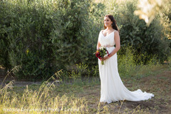 An outdoor portrait session takes place!