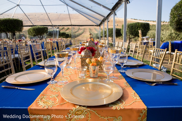 Reception in Livermore, CA Indian Fusion Wedding by Wedding Documentary Photo + Cinema