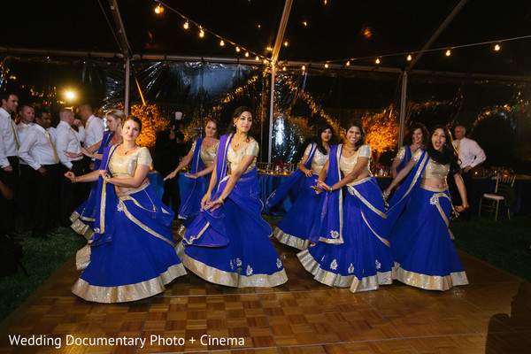 reception fashion,bridesmaids,lengha,bridesmaids lenghas