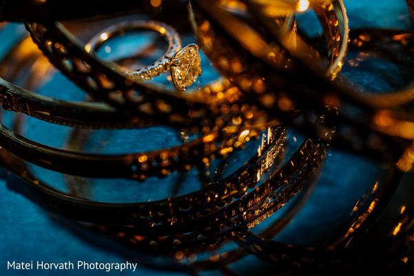 Wedding Ring in Dallas, TX Indian Wedding by Matei Horvath Photography