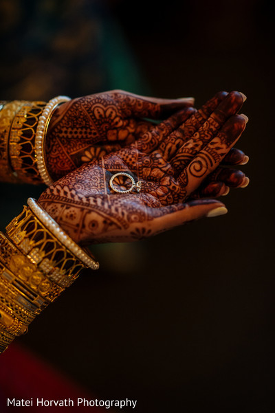Bridal Jewelry & Mehndi in Dallas, TX Indian Wedding by Matei Horvath Photography