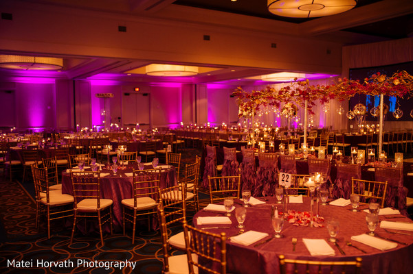 Floral & Decor in Dallas, TX Indian Wedding by Matei Horvath Photography