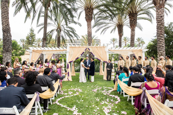 Ceremony in Anaheim, CA Indian-Nepali Fusion Wedding by Aaroneye Photography