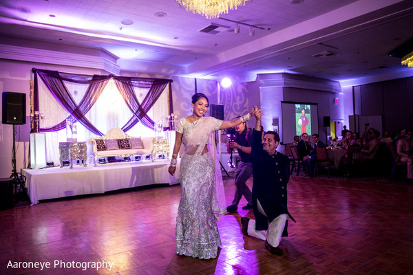 Reception in Anaheim, CA Indian-Nepali Fusion Wedding by Aaroneye Photography