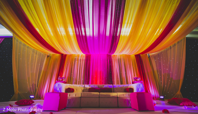 Floral & Decor in Punta Cana, Dominican Republic Indian Destination Wedding by Z Molu Photography