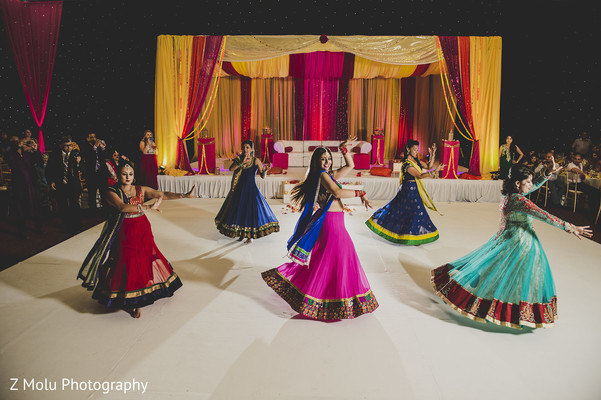 Sangeet in Punta Cana, Dominican Republic Indian Destination Wedding by Z Molu Photography