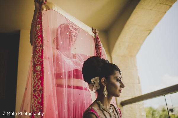 Getting Ready in Punta Cana, Dominican Republic Indian Destination Wedding by Z Molu Photography