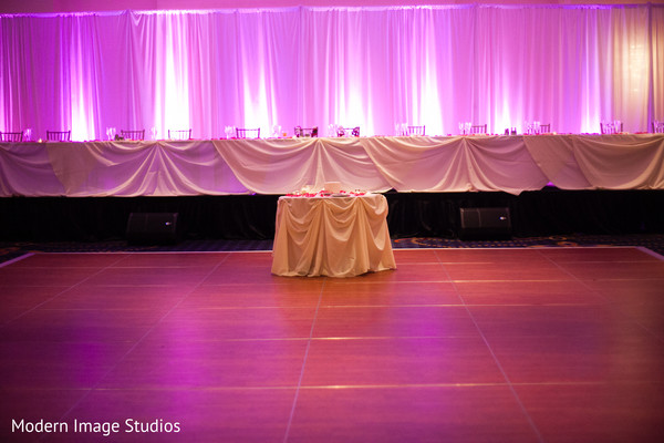 Reception in Oak Brook, IL Indian Fusion Wedding by Modern Image Studios