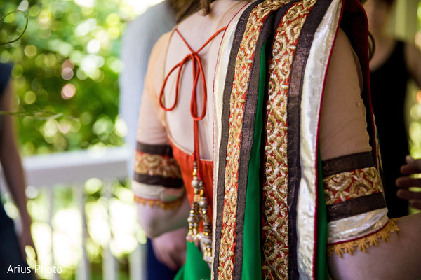 Getting Ready in Big Indian, NY Indian Fusion Wedding by Arius Photo