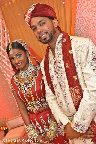 Ceremony in Richmond Hill, NY Indian Wedding by AH Portrait Photography