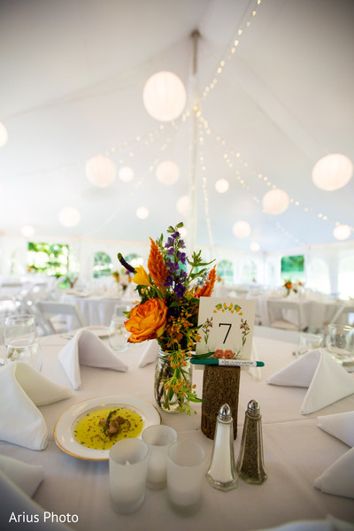 Floral & Decor in Big Indian, NY Indian Fusion Wedding by Arius Photo