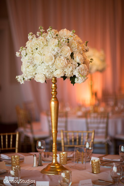 Floral & Decor in Williamsburg, VA Indian Fusion Wedding by Connor Studios