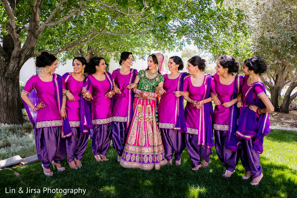 Portraits in Long Beach, CA Indian Wedding by Lin & Jirsa Photography