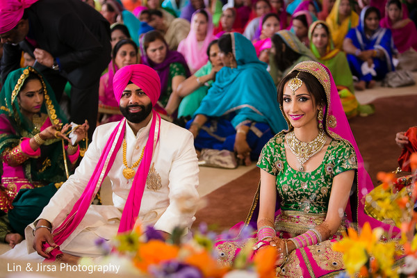 Sikh Wedding in Long Beach, CA Indian Wedding by Lin & Jirsa Photography