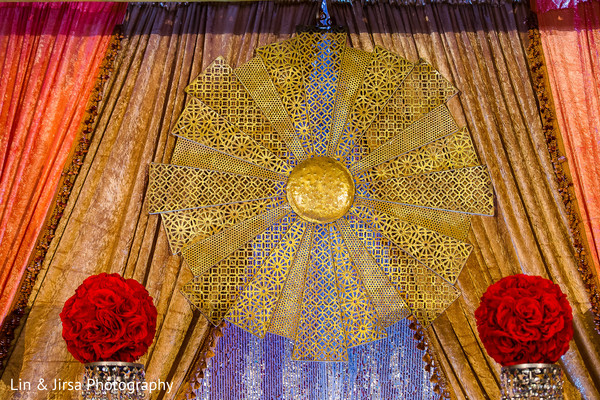 Reception in Long Beach, CA Indian Wedding by Lin & Jirsa Photography