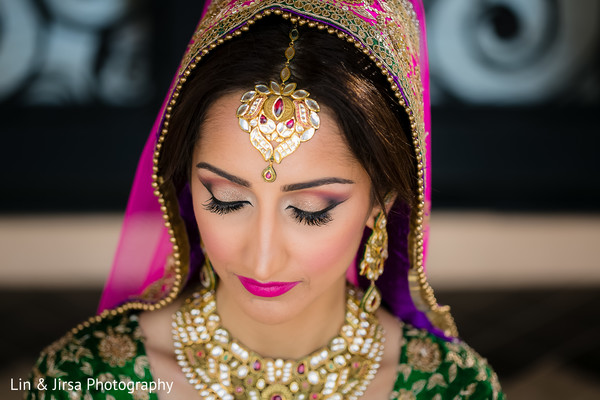 Getting Ready in Long Beach, CA Indian Wedding by Lin & Jirsa Photography