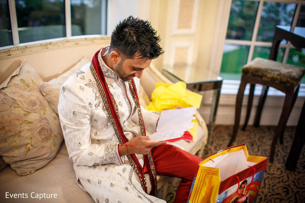 Getting Ready in Aberdeen, NJ Indian Wedding by Events Capture