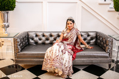 indian bride getting ready,indian bridal fashions,indian wedding lengha,indian bridal lengha