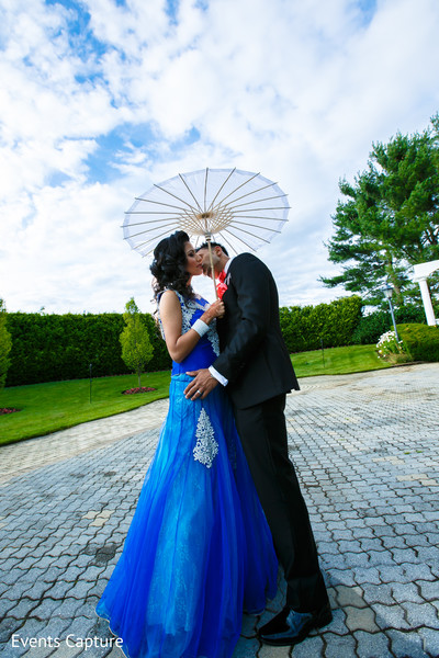 Reception Portraits in Aberdeen, NJ Indian Wedding by Events Capture
