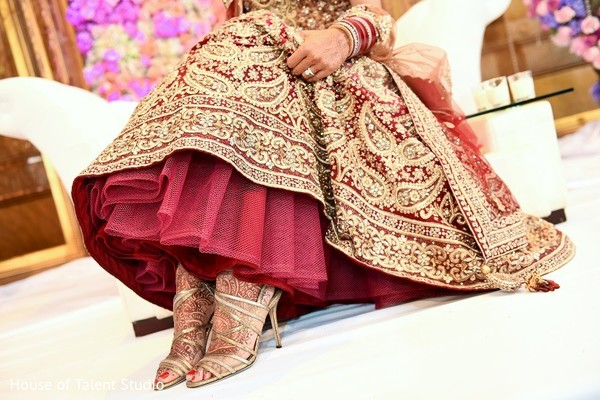 Shoes in New York, NY Indian Wedding Reception by House of Talent Studio