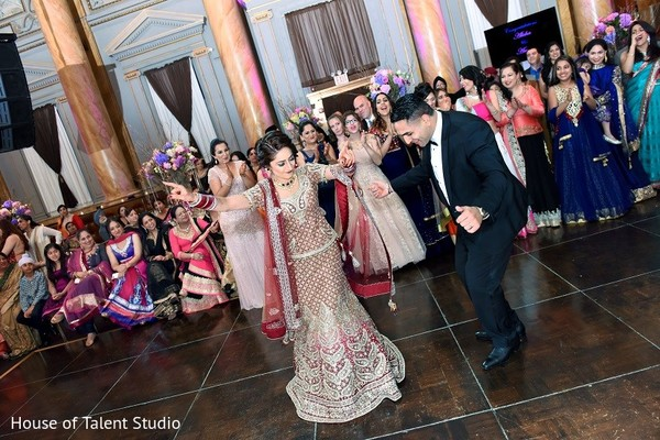 Reception in New York, NY Indian Wedding Reception by House of Talent Studio