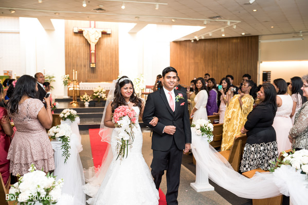 Ceremony in Bethesda, MD South Asian Wedding by Boraie Photography