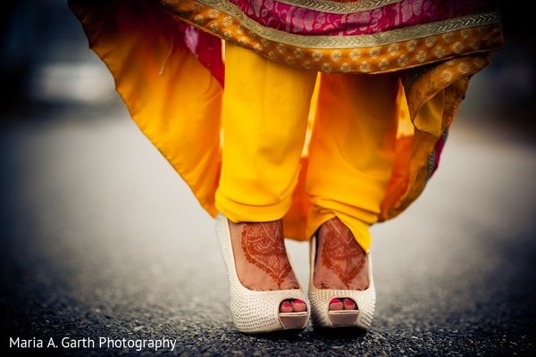 Mehndi in Claymont, DE Pakistani Wedding by Maria A. Garth Photography