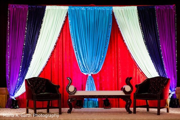 Floral & Decor in Claymont, DE Pakistani Wedding by Maria A. Garth Photography