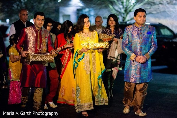 Mehndi Night in Claymont, DE Pakistani Wedding by Maria A. Garth Photography