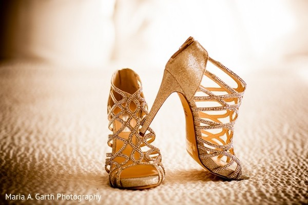 Shoes in Claymont, DE Pakistani Wedding by Maria A. Garth Photography