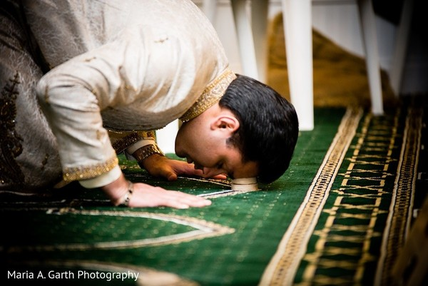 Ceremony in Claymont, DE Pakistani Wedding by Maria A. Garth Photography