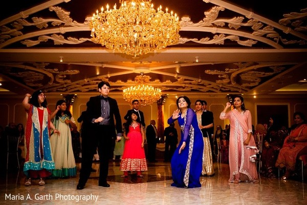 Reception in Claymont, DE Pakistani Wedding by Maria A. Garth Photography