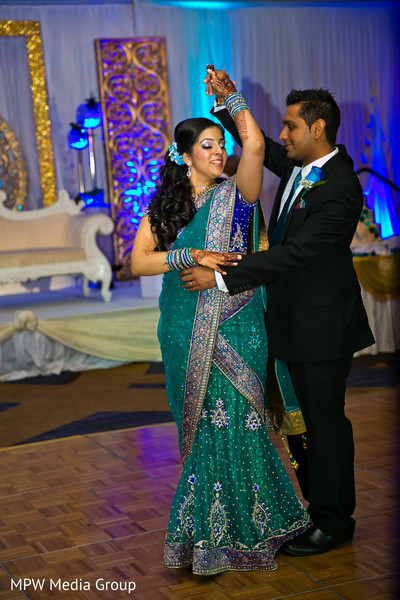 Reception in Parsippany, NJ Indian Wedding by MPW Media Group