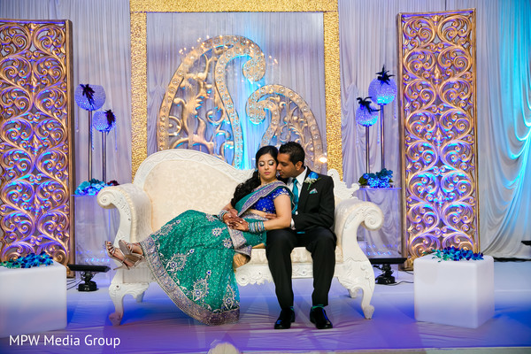 reception,indian wedding reception,reception decor,reception fashion,sari,sweetheart stage,suit