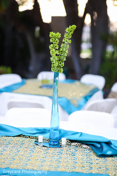 Floral & Decor in Los Angeles, CA Sikh Wedding by Greycard Photography