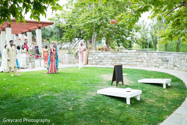 Post-Ceremony Luncheon in Los Angeles, CA Sikh Wedding by Greycard Photography