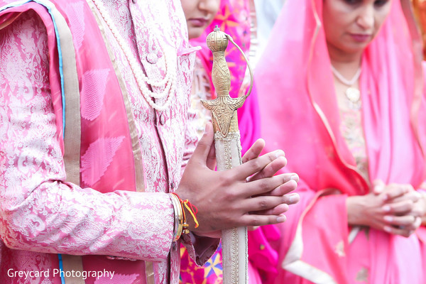 Details in Los Angeles, CA Sikh Wedding by Greycard Photography