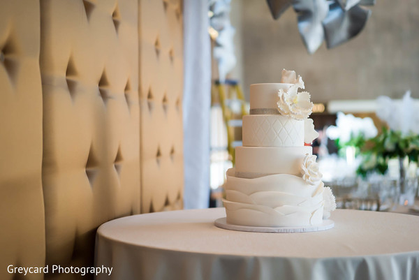 Wedding Cake in Los Angeles, CA Sikh Wedding by Greycard Photography
