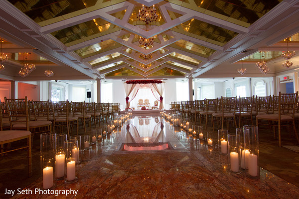 Ceremony in Woodland Park, NJ Indian Wedding by Jay Seth Photography