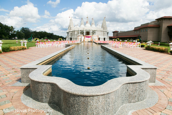 Venue in Rosemont, IL Indian Wedding by Adam Novak Photography