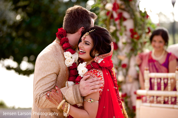 Indian Ceremony in Orlando, FL Indian Fusion Wedding by Jensen Larson Photography